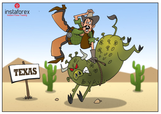 Texas slides into crisis due to coronavirus