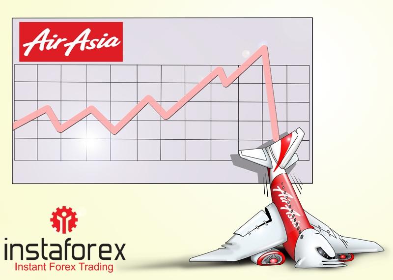 Акции AirAsia упали на 11 процентов после исчезновения самолета