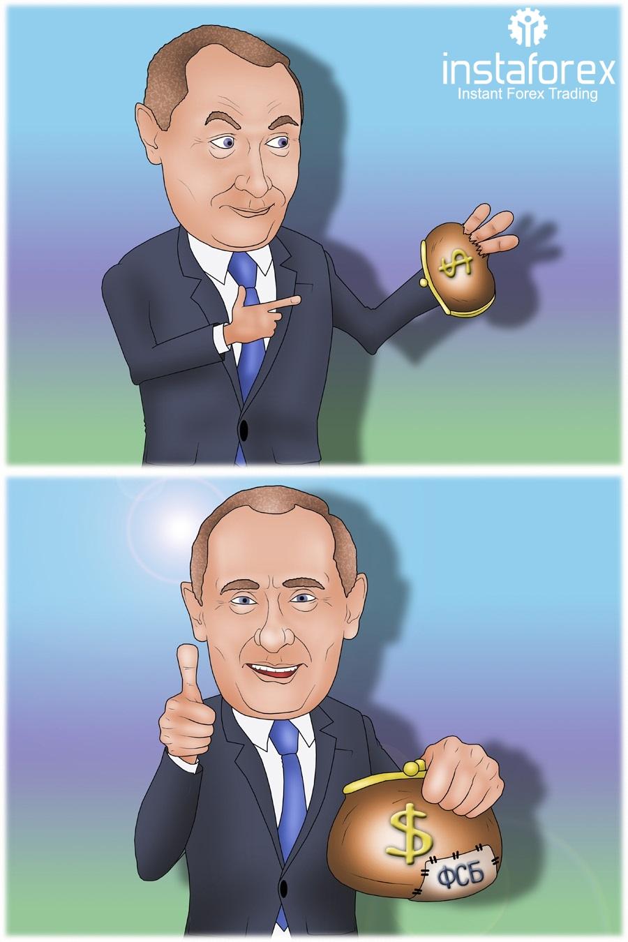 Путин поручил ФСБ пресекать махинации на валютном рынке