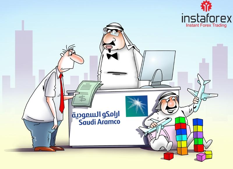 Saudi Aramco может провести IPO на бирже США