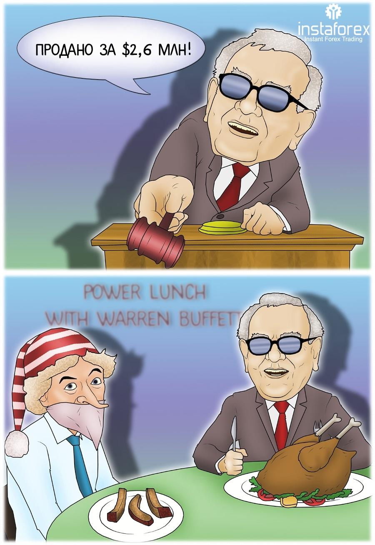 Пообедать с Уорреном Баффеттом за $2,6 млн