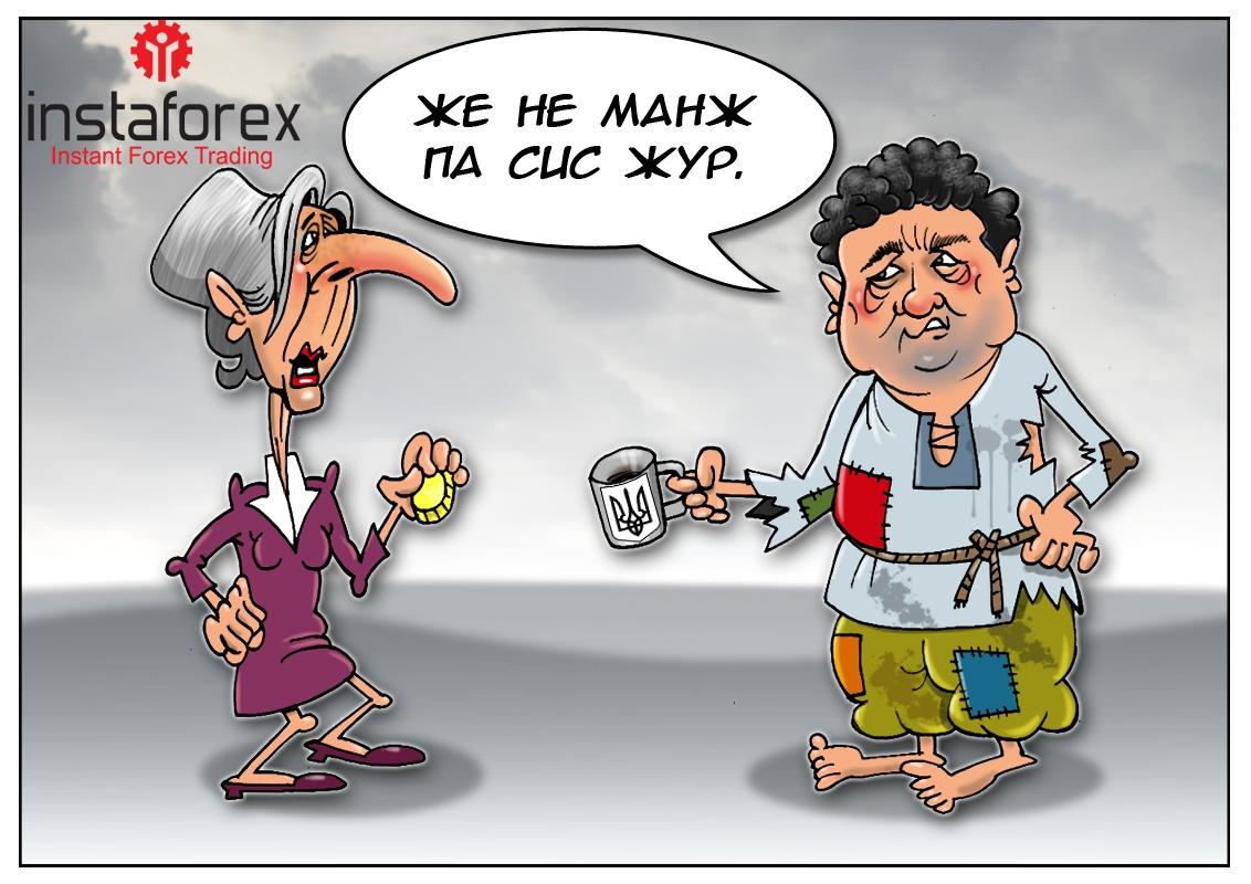 Киевские власти рассчитывают на финансовую помощь МВФ