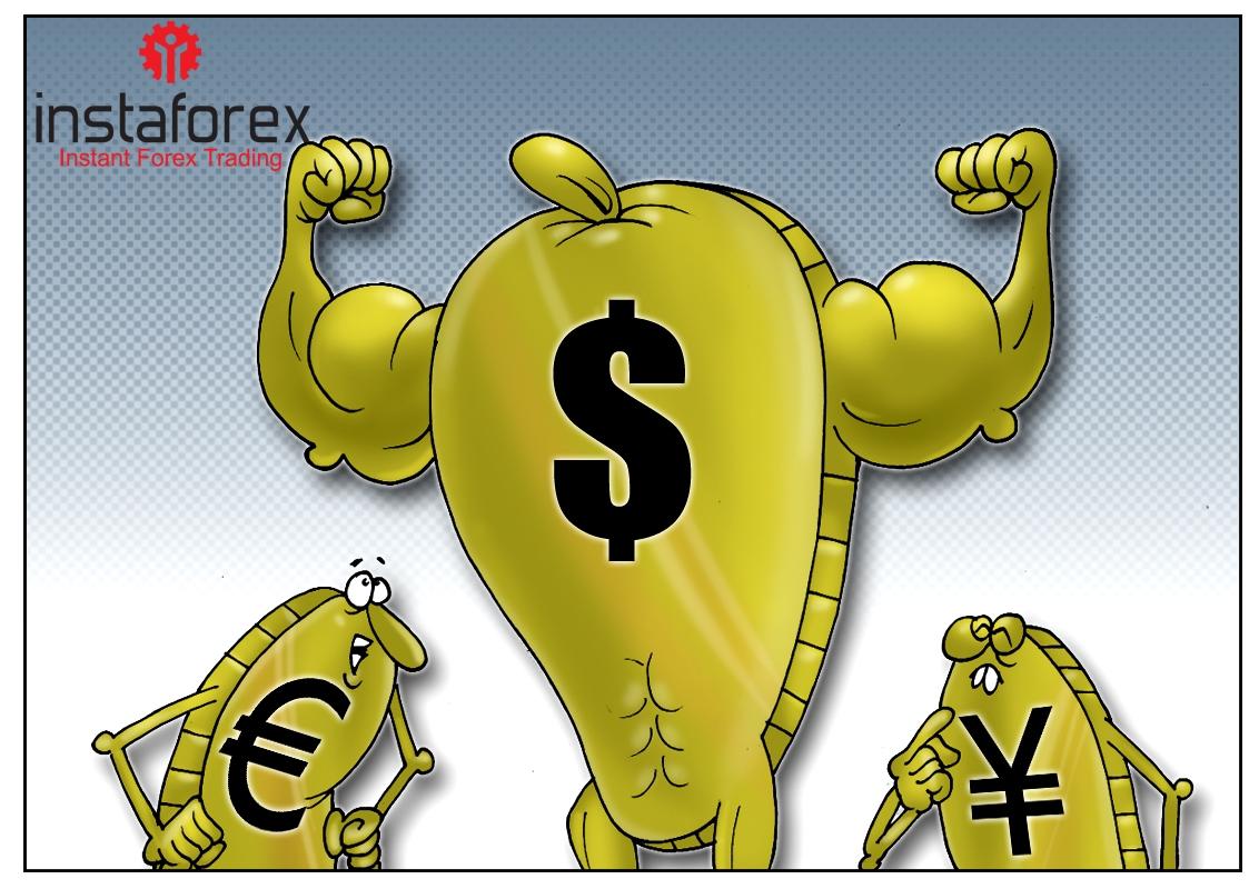 Высокая скорость подъема к вершинам курса, или доллар строго вверх!