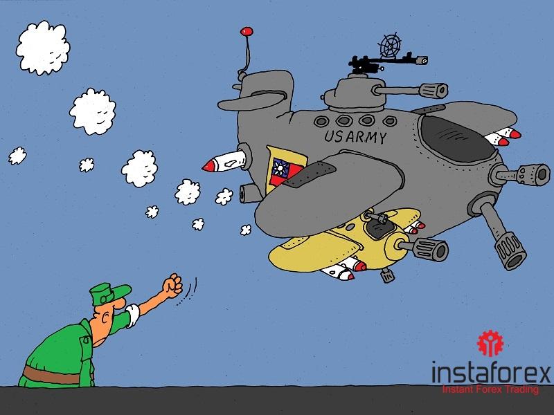 Власти КНР выступают против военного обмена Тайваня и США