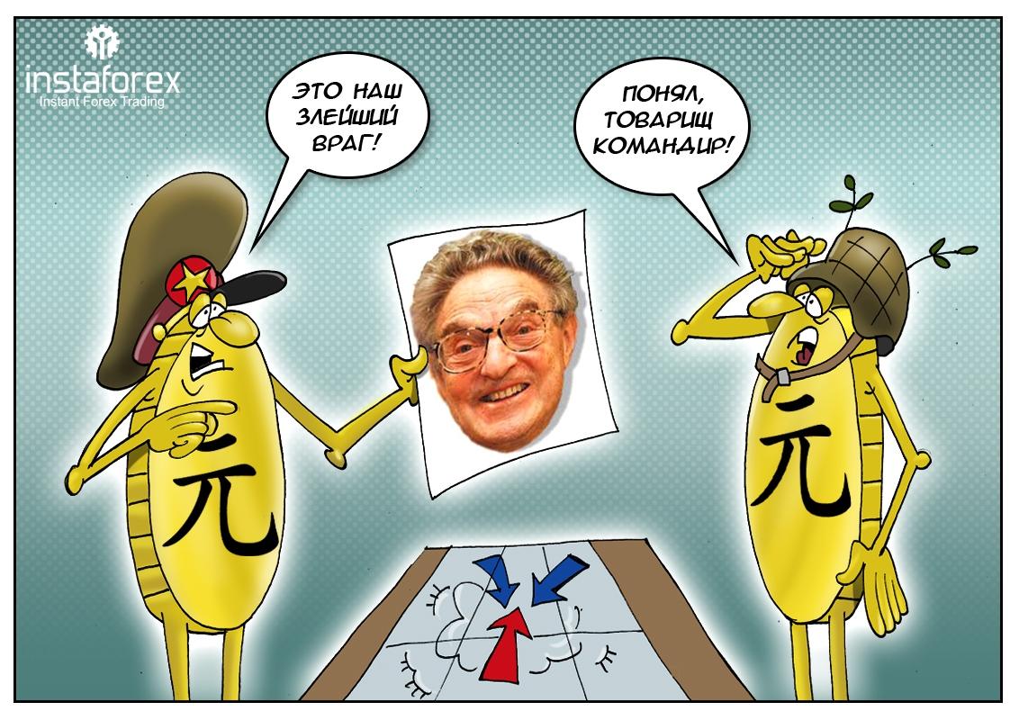 Один в поле воин, или миллиардер Джорж Сорос один на один с юанем!