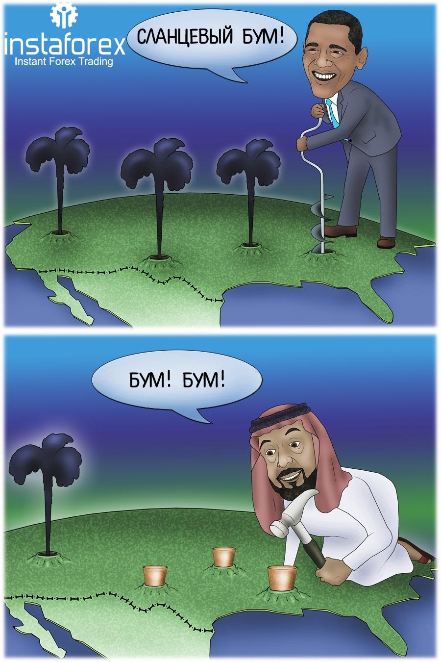 Число нефтескважин в США сократилось до минимума