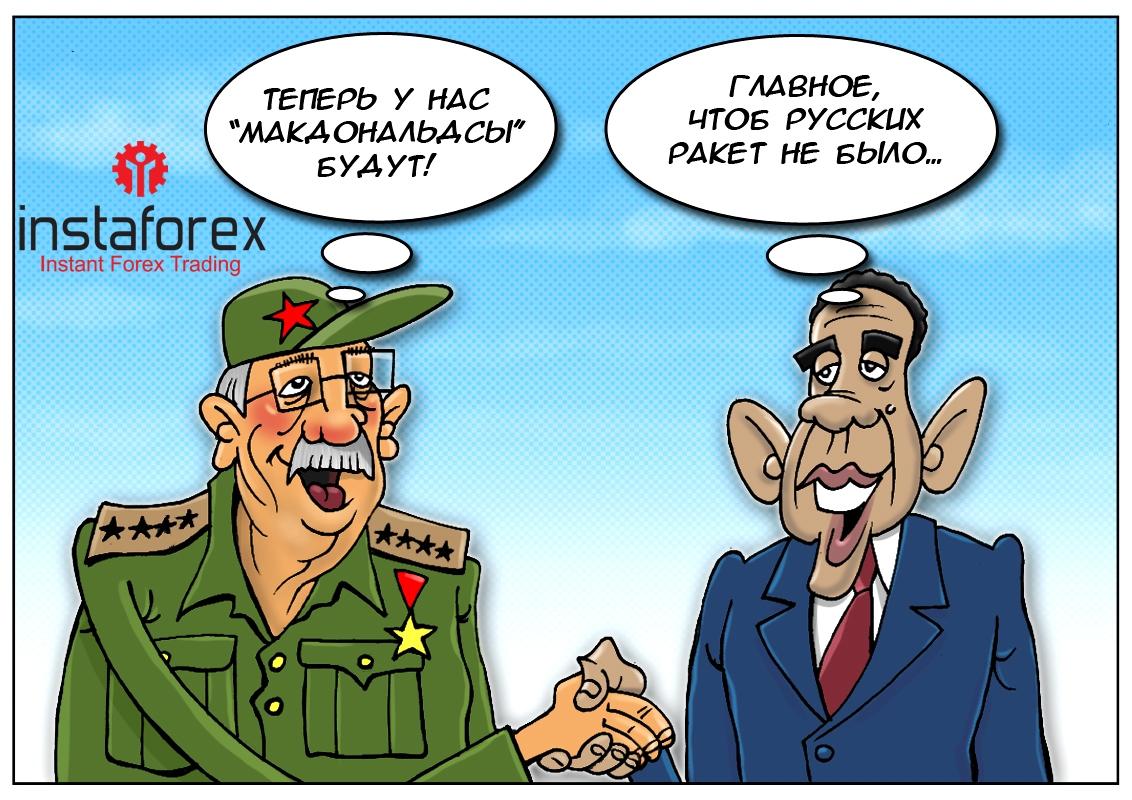 Куба далеко — Куба рядом! Новый «роман» Статуи Свободы и Острова Свободы!