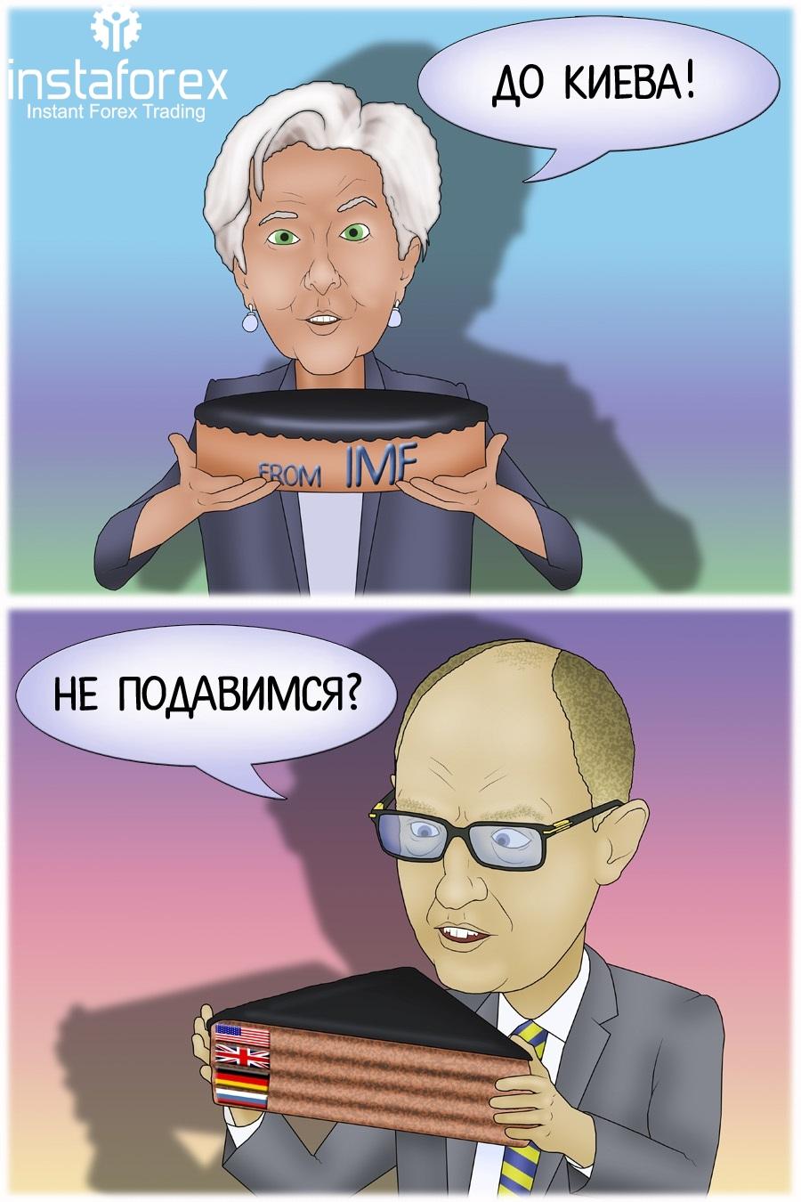 В Минфине допустили участие России в финансовой поддержке Киева