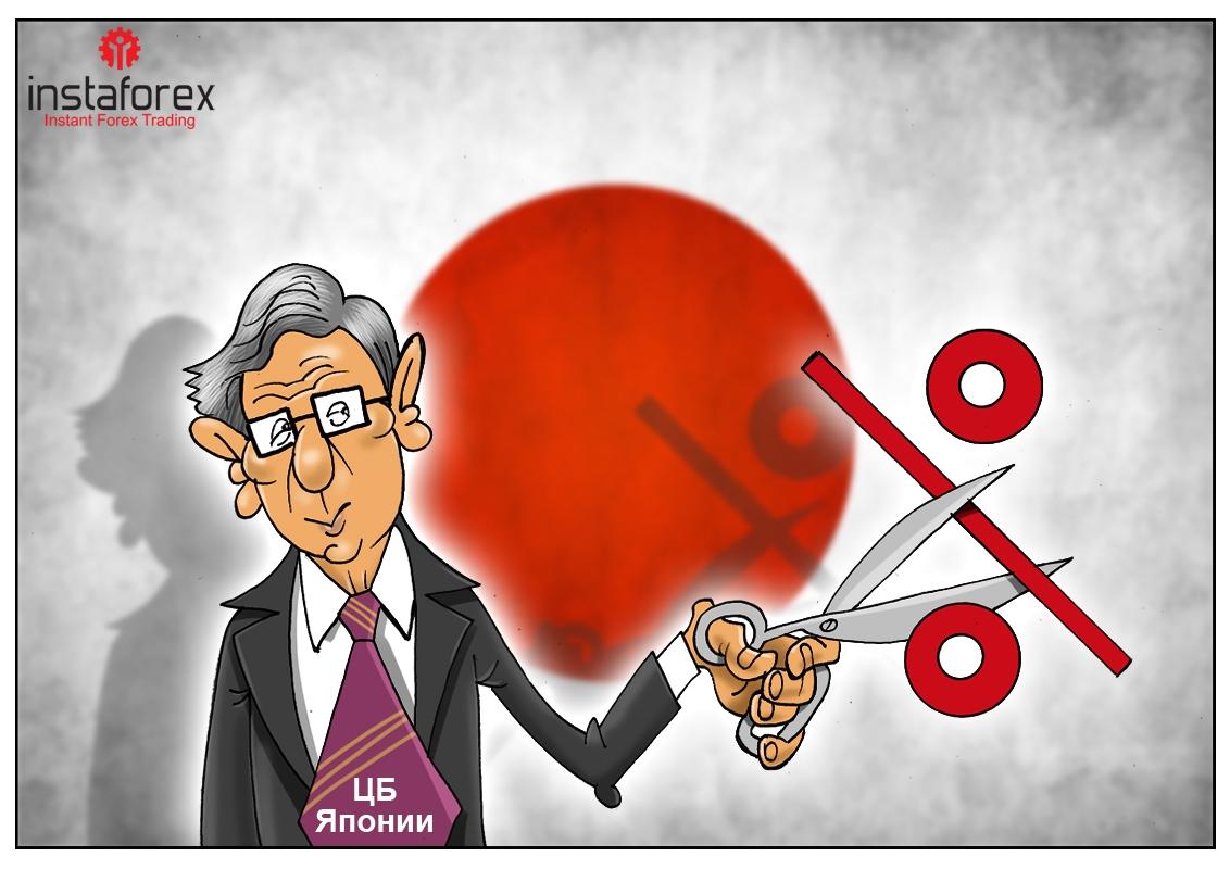 Центробанк Японии: ждали все финансовой прибавки, но японцы опустили ставки!