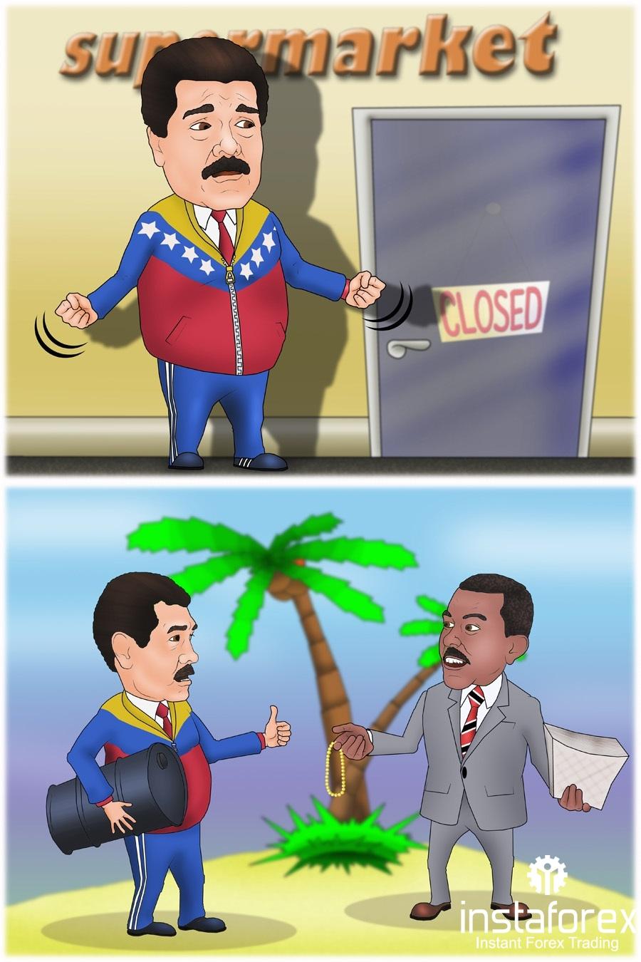 Венесуэле предложили обменивать нефть на салфетки