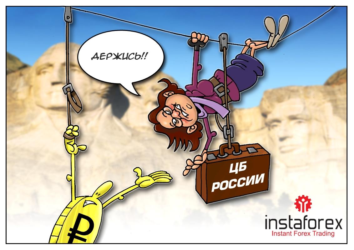 Предсказуемая реакция Центробанка РФ в погоне за падающим рублем