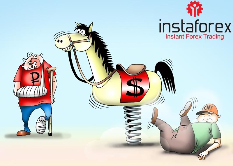 Юань испытал сильнейшее падение с 2008 года в паре с долларом