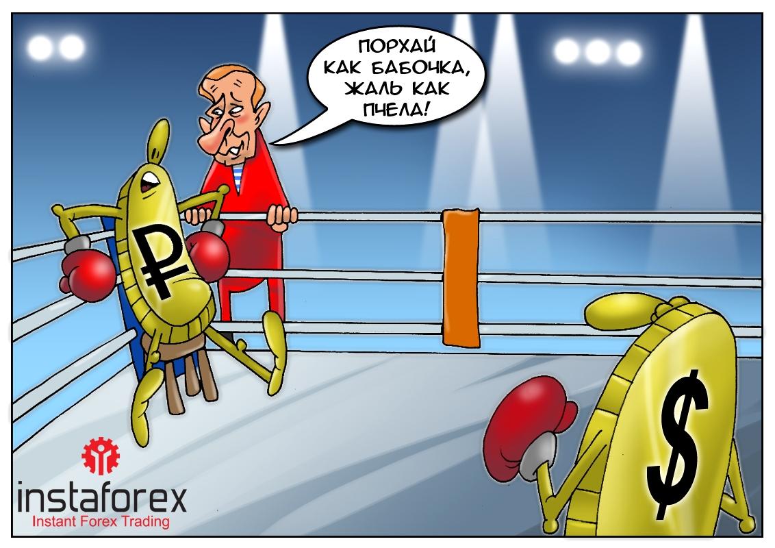 Пикирующий курс: Рубль вниз летит на скорости! Причина — Минские договоренности!