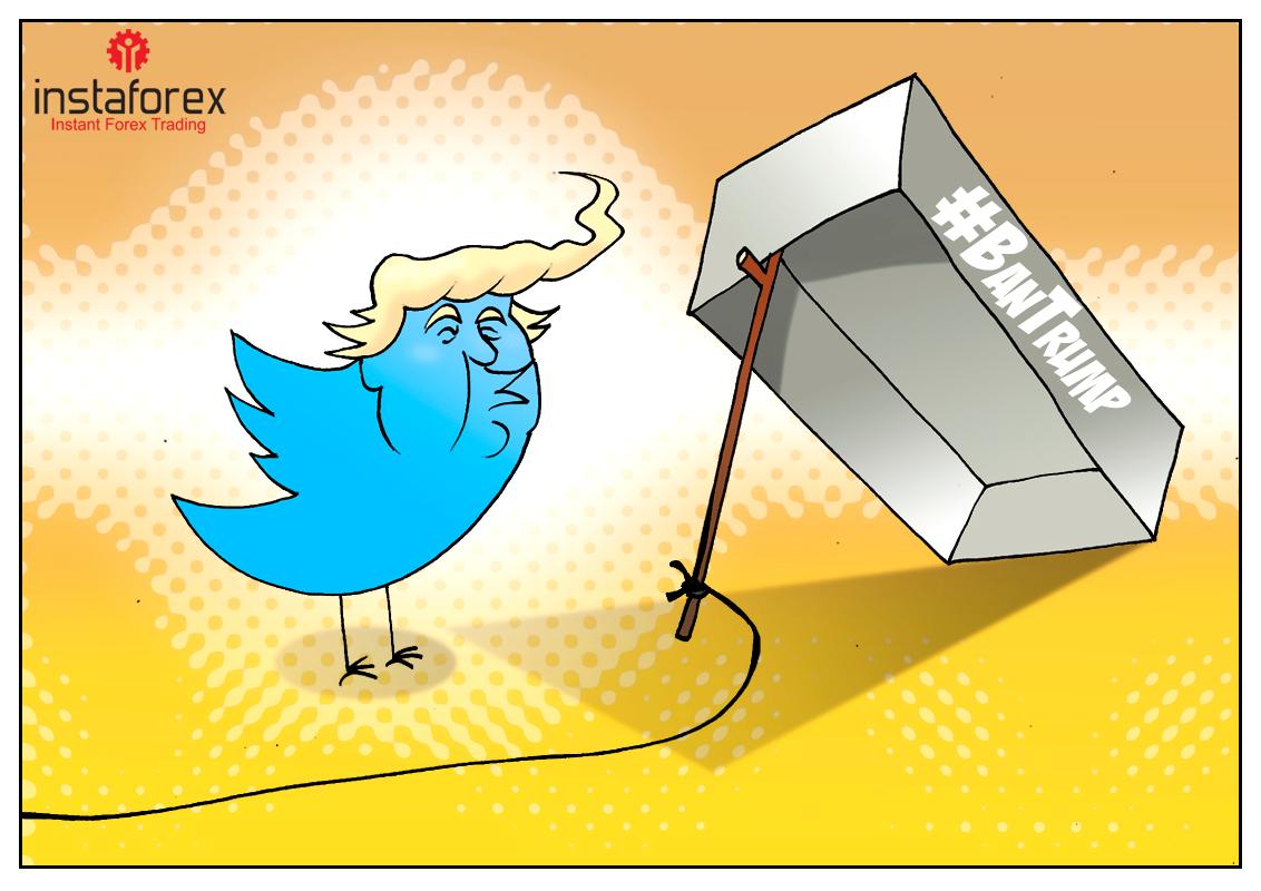 Изгнание Трампа из Твиттера на мороз без теплого свитера!