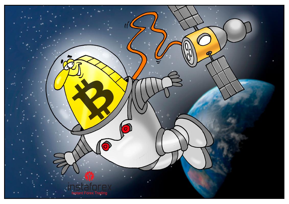 Он сказал «Поехали!» и махнул рукой, первый выход в космос валюты цифровой!