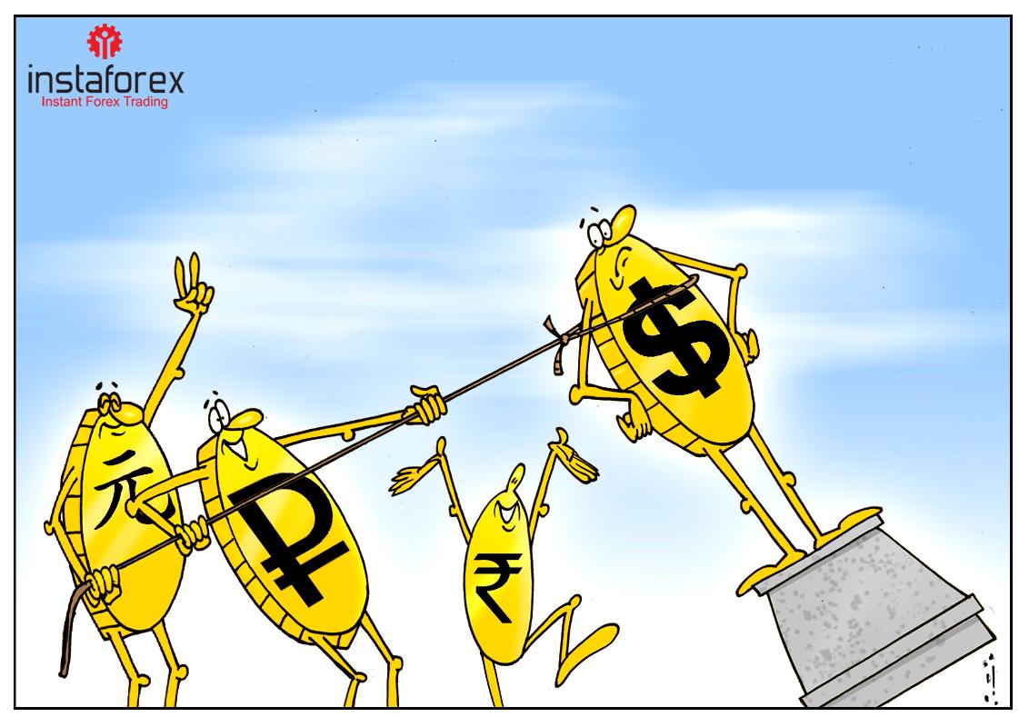 Мир отказывается от доллара