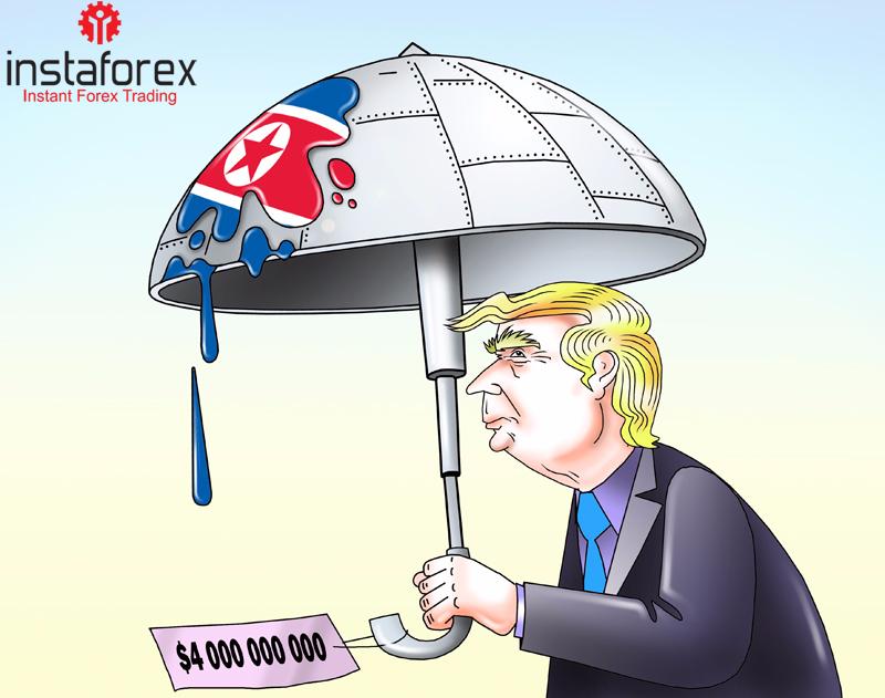 Трамп намерен потратить на защиту от КНДР $5 млрд