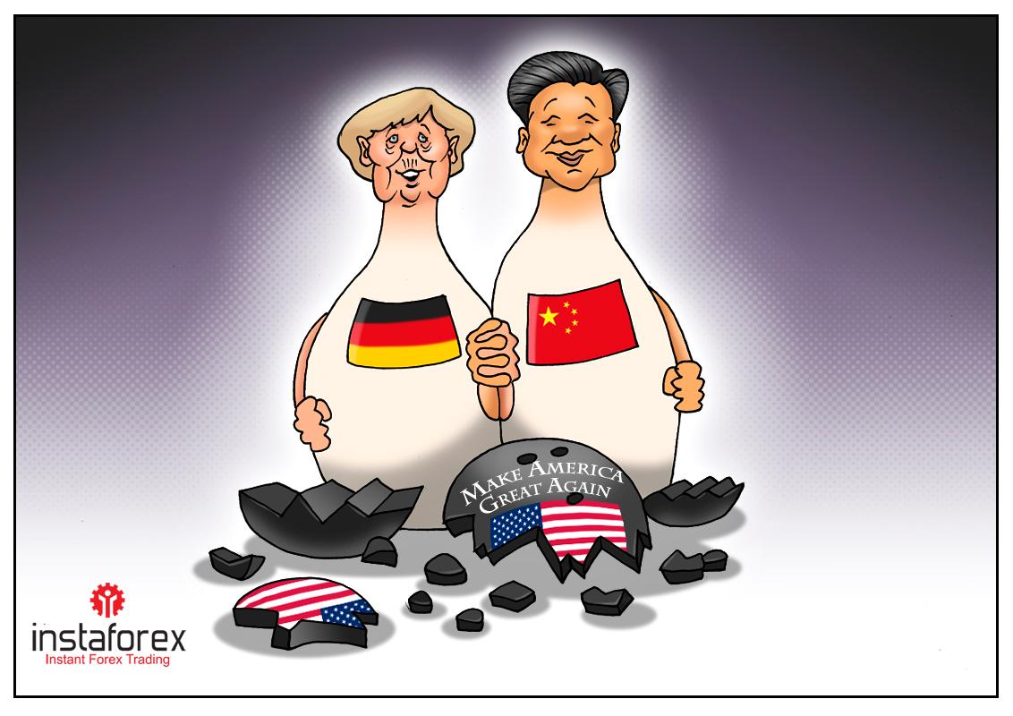 امریکی درآمدات ٹیرف کے خلاف جرمنی اور چین نے لابی بنایا