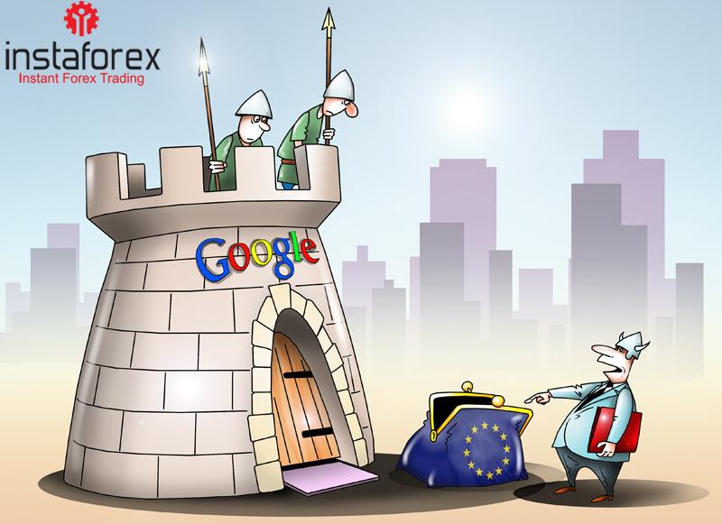 Огромный штраф со стороны ЕС не разорил Google