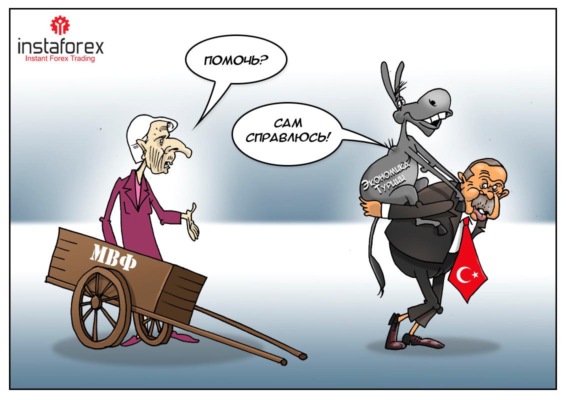 Минфин Турции: Радуйтесь и веселитесь, деньги есть! А вы держитесь!