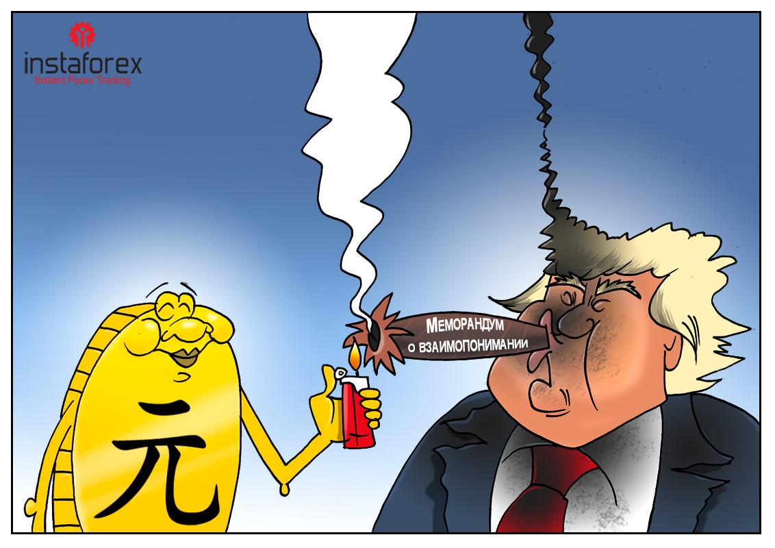США - КНР: Есть просьба к вам одна... Всего одно условие - и кончится война!
