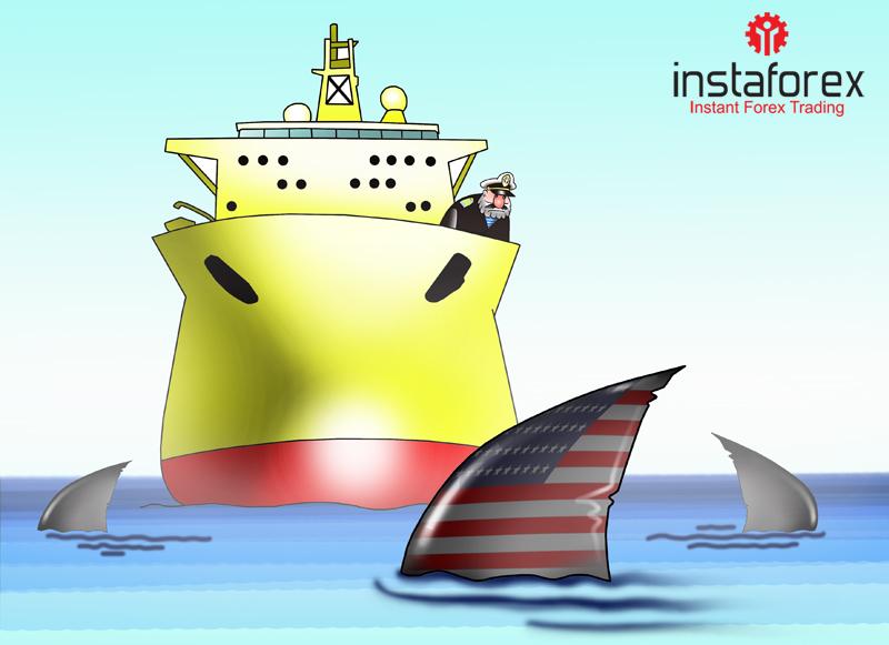 Хода нет: огромное количество нефти остается в Атлантике из-за санкций США