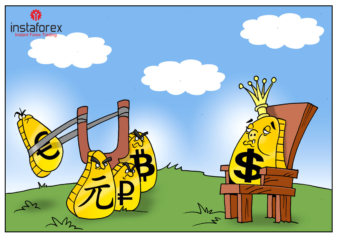 Развернулась дедолларизация, но доллар пока решил не сдаваться!