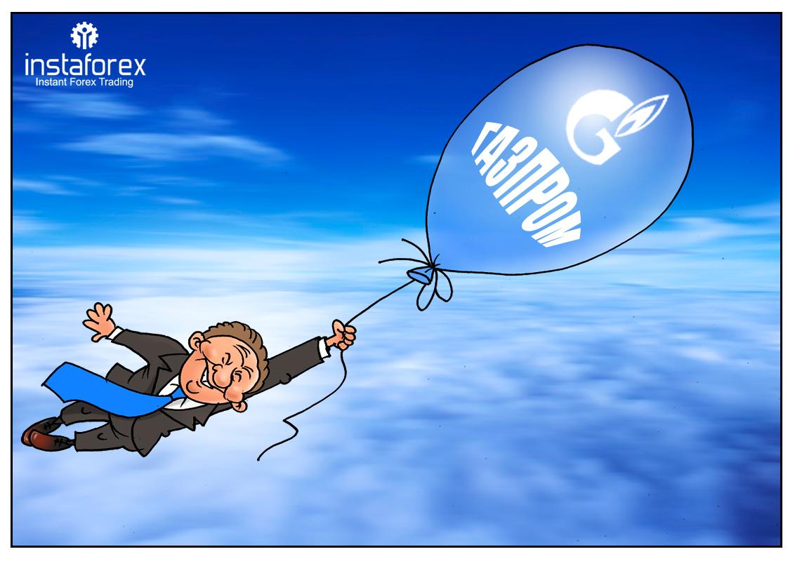 Газпром планирует выплатить рекордные девиденты держателям акций