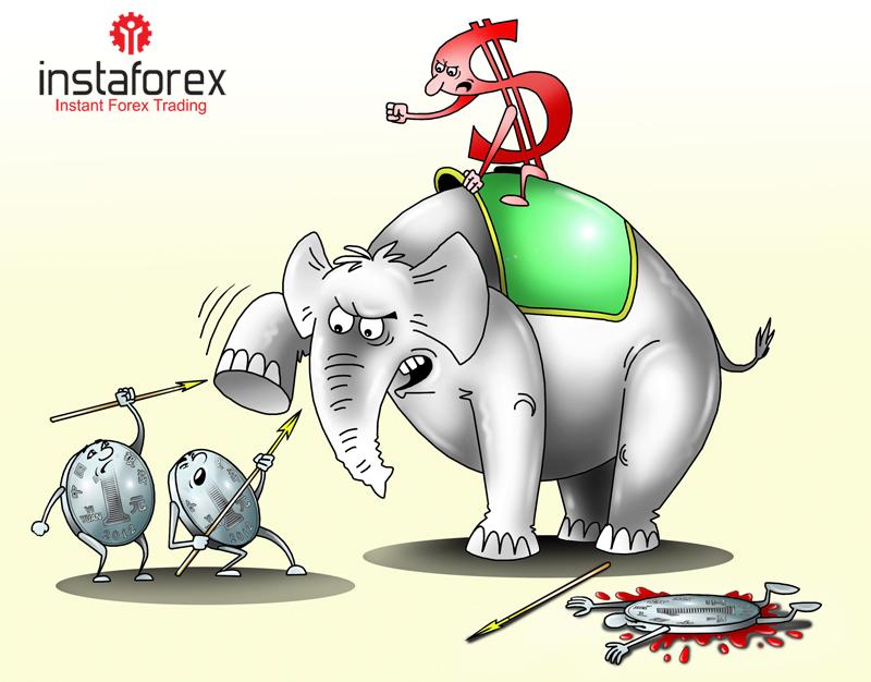Доллар взлетит по отношению к юаню