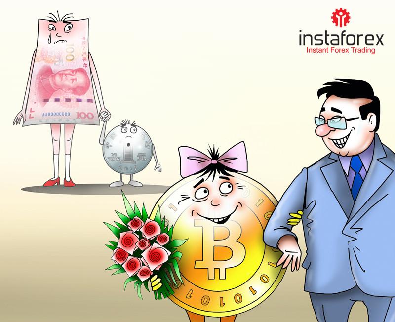 人民币疲软推动了中国对BTC的需求