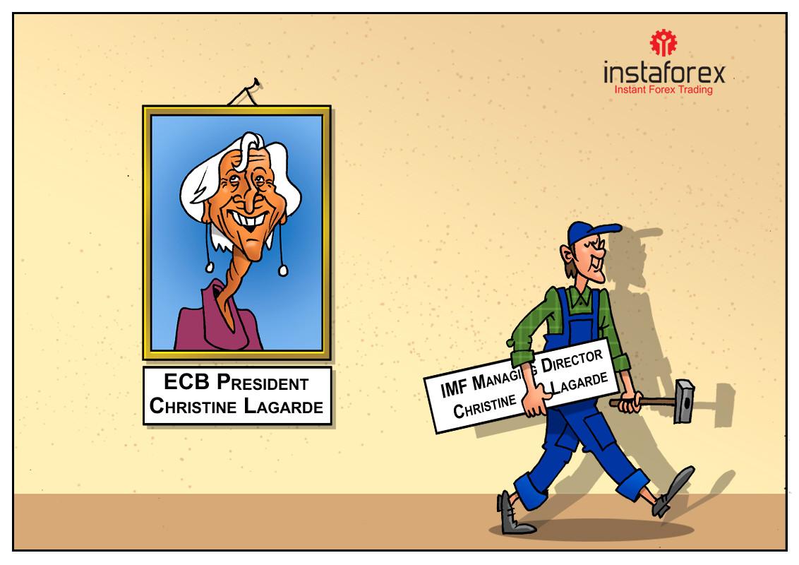 Christine Lagarde assumirá o cargo de nova diretora do BCE