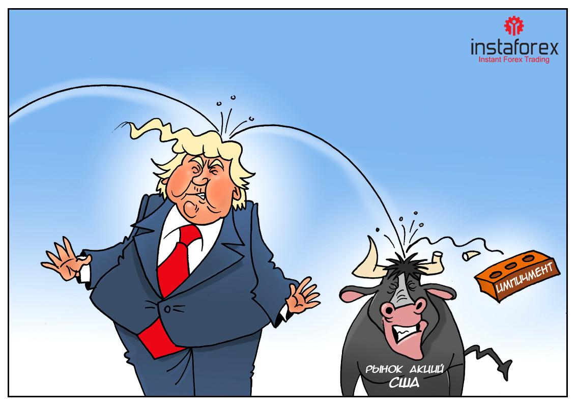 Трамп: Розперезалися конкретно, бач, влаштували мені тут! Як оголосите імпічмент — ринки відразу впадуть!