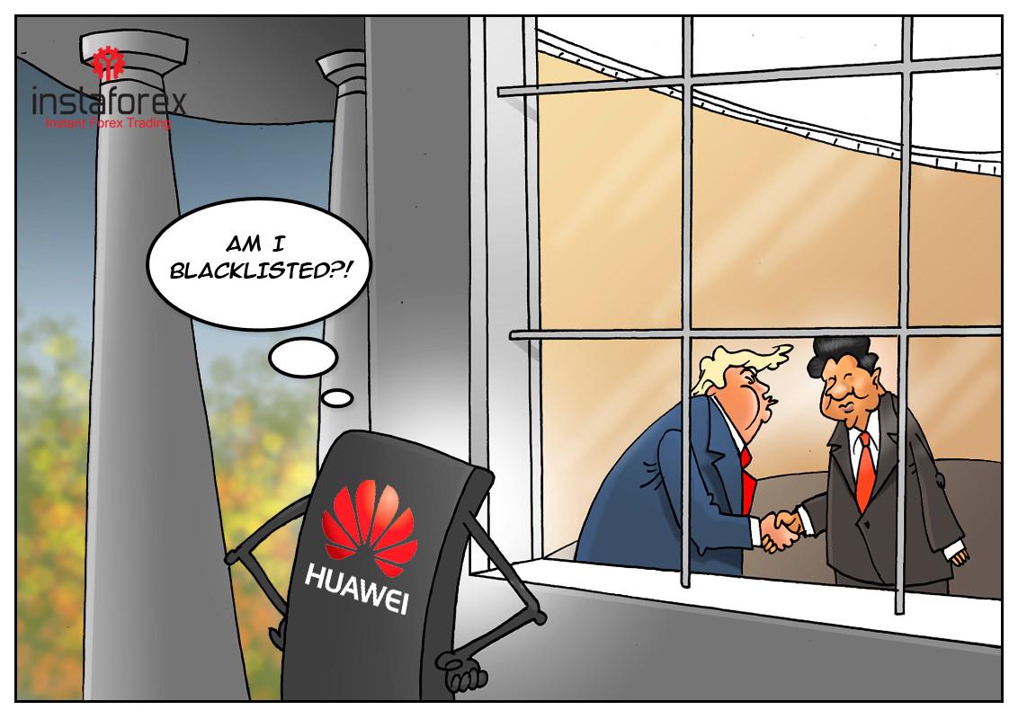 Huawei está fuera del acuerdo de Estados Unidos y China