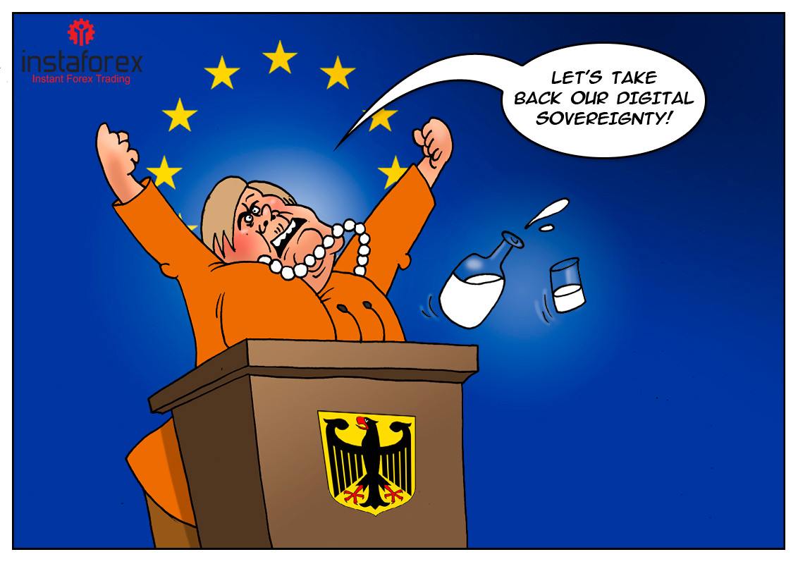 """Германия претендира за """"цифров суверенитет"""" от САЩ"""