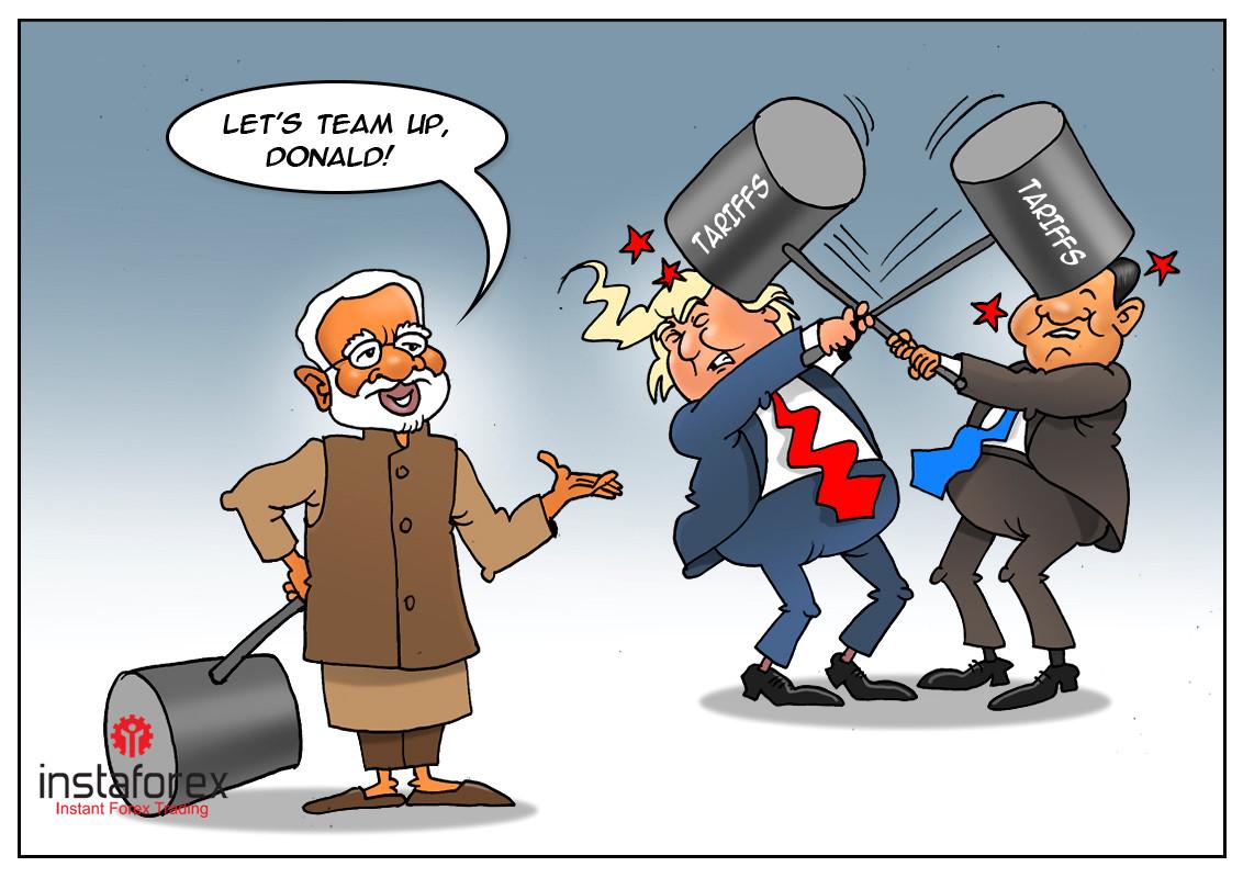 Índia se beneficiará de disputa comercial EUA-China