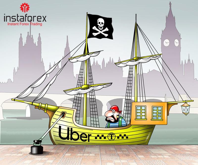Великобританія відмовляється від Uber