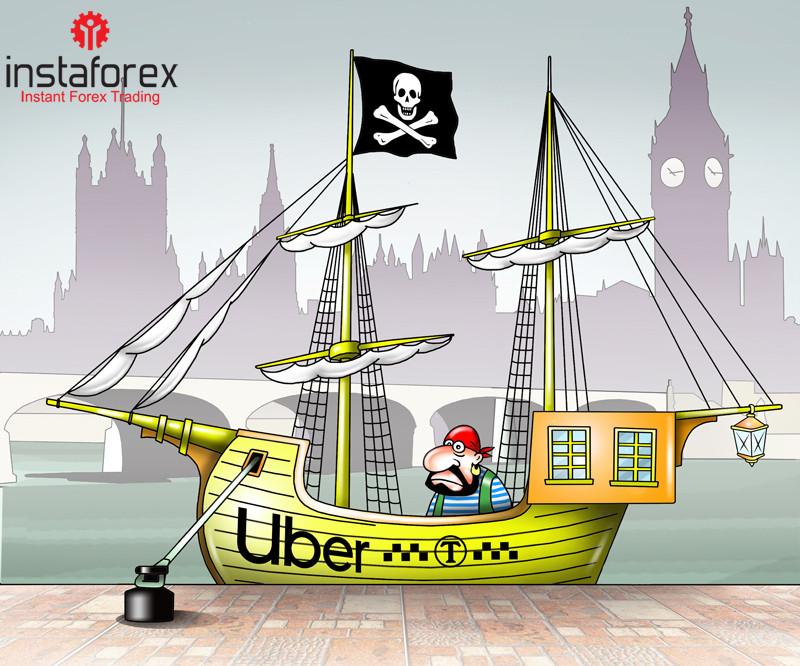 Uber  ถูกแบนจากการดำเนินการในลอนดอน