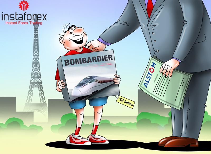 Alstom compra unidade ferroviária da Bombardier por 6,7 bilhões de dólares