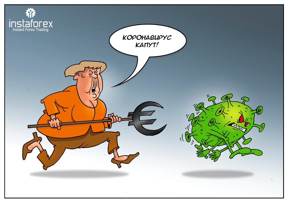 Німеччина буде грошима лікувати економіку від коронавіруса