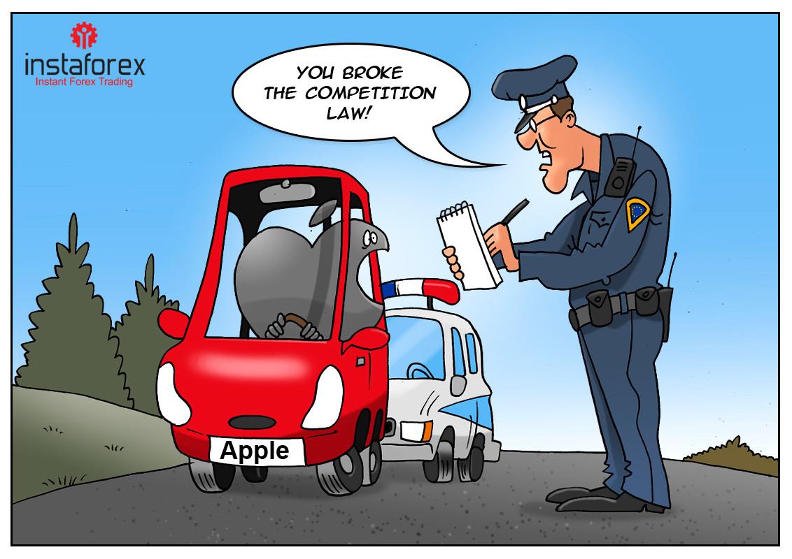 Apple multada em 1,1 mil milhões de euros em França por ações anticoncorrenciais.