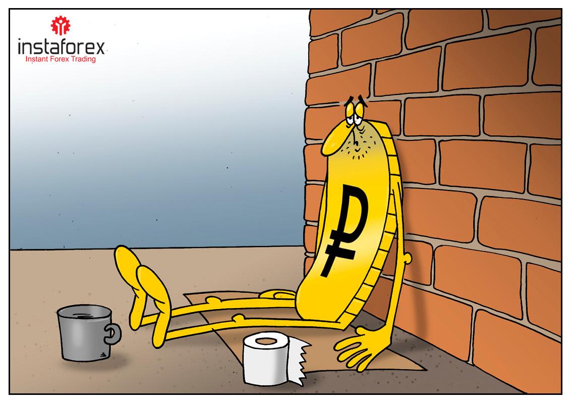 RUB shows worst performance amid oil market crash