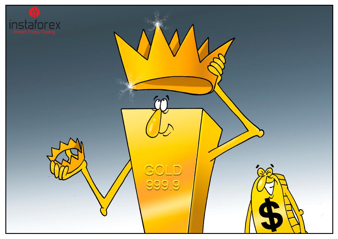 Precios de oro se benefician de los temores por la pandemia