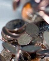 Стоимость доллара просела на 9 копеек