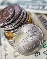 Доллар США упал на полрубля