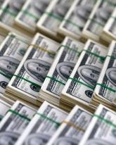 Курс доллара просел на 15 копеек