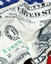 Доллар просел на 6 копеек