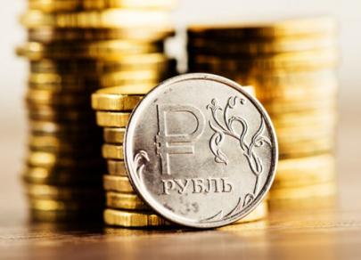 В понедельник доллар опустился до 66 рублей