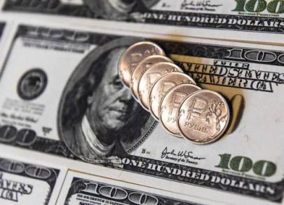 Доллар снижается в среду на 3,6 копейки