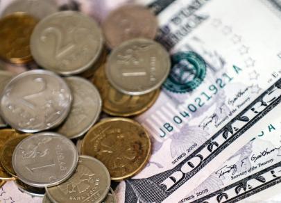 Рубль попытается вернуться к уровню ниже 65