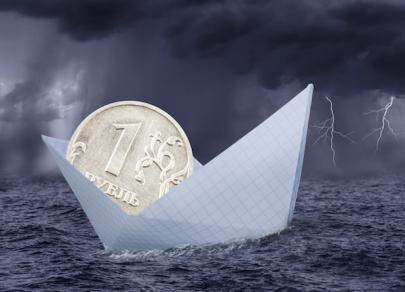 Российская валюта пребывает в пессимизме